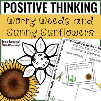 Positive Thinking Lesson and Activity Pack for Small Group Counseling