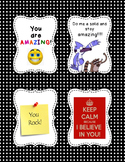 Positive Thinking Locker Notes - Free