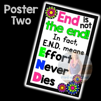 Positive Thinking Posters!