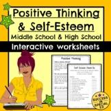 Social Skills - Positive Thinking Worksheets