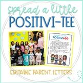 Spread a Little PositiviTEE Parent Letter