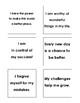 Positive Vibes/Inspirational Sticky (Post It) Notes