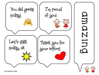 Positive Words Cards