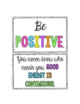 Positive and Encouraging Teacher Notes