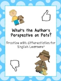Positive and Negative Author's Perspective Identification