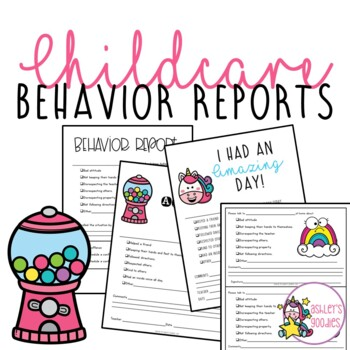 Positive and Negative Behavior Report