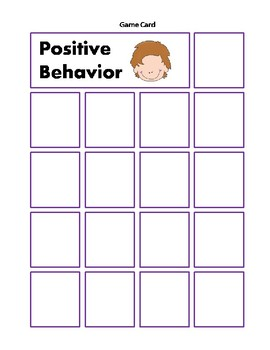 Positive and Negative Behavior Sorting Cards Activity behaviour