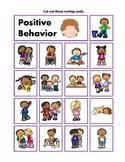 Positive and Negative Behavior Sorting Cards Activity behaviour