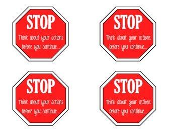 Positive and Negative Behavior Tools