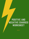 Positive and Negative Charges Worksheet