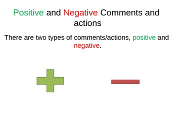 Positive and Negative Comments Match with People's reactions.