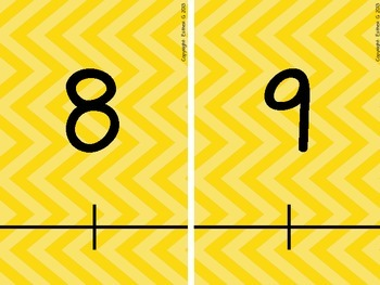 Positive and Negative Integer Number Line 6.NS.5 & 6.NS.6** Yellow