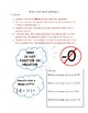 Positive and Negative Integers Math Notebook