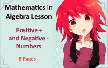 Positive and Negative Numbers  +◐-