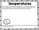 Positive and Negative Numbers Math Tasks and Exit Tickets
