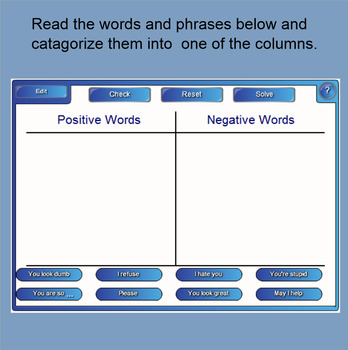 Positive and Negative Responses