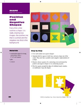 Positive and Negative Shapes