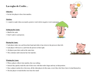 Positive and Negative Word Pig