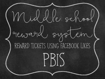 Positive behavior- REWARDS