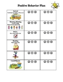 Positive behavior plan