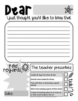 It is a photo of Current Printable Positive Notes Home for Parents