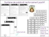 Positive reinforcement points system-FRENCH-Système de renforcement positif