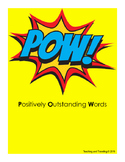 Dictionary of Positively Outstanding Words