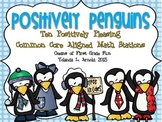 Positively Penguins: Ten Common Core Alligned Math Stations