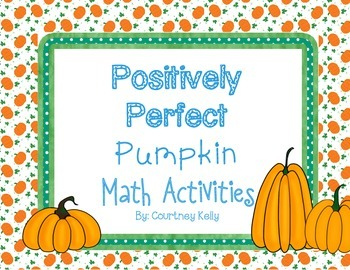 Positively Perfect Pumpkin Math Activities