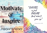 Classroom Motivation: Positivi(T) Posters - Mixed Bouquet
