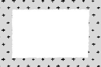 Positivity Blank Editable Labels Flashcards