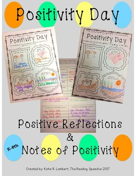 Positivity Day - Positive Reflections and Notes