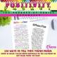 Positivity Packet   Bracelets, Postcards, & 100 Phrases of Praise!