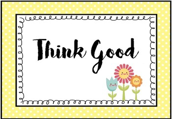 Positivity Posters - Do Good
