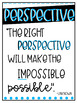 Positivity Project Character Traits Quotes Posters
