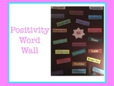 Positivity Word Wall