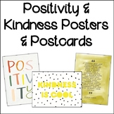 Positivity and Kindness Classroom Posters and Postcards |