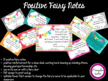 Positve Fairy Notes