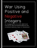 Positive and Negative Integers Card Game Activity! *Practi