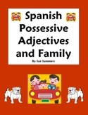 Spanish Possessive Adjectives and Family Worksheet Distanc