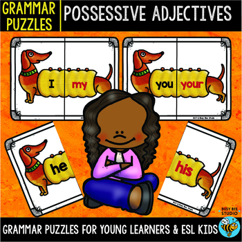 Possessive Adjectives Puzzles