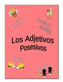 Possessive Adjectives Worksheets for Spanish