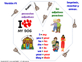 Possessive Adjectives in English
