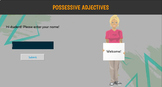 ESL / EFL Grammar Quiz: Possessive Adjectives