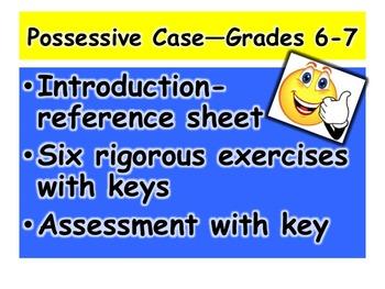 Possessive Case—Grades 6-7