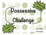 Possessive Noun Challenge Games and Quiz