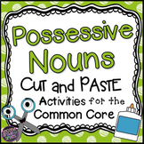 Possessive Nouns Cut and Pastes