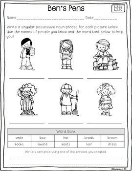 Possessive Noun Palooza (A Resource Pack)