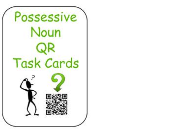 Possessive Noun QR Task Cards