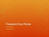 Possessive Noun Review Powerpoint